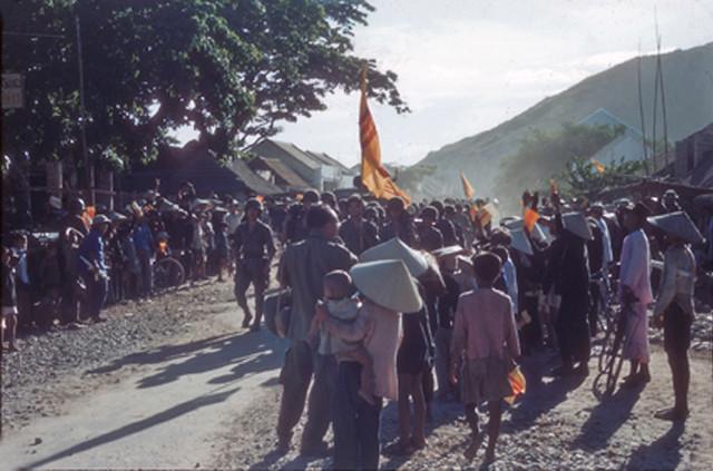 Qui Nhơn 1955 - Photo by Rufus Phillips (1)