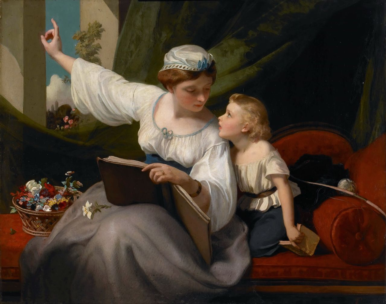 The Fairy Tale by James Sant, R.A. (1820 - 1916)