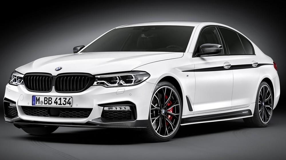 Пакет M Performance за новата серија 5 на BMW