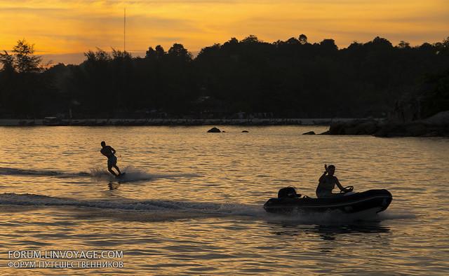 Sunset at Lipe island, Thailand
