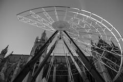 "Metz,La grande roue.""the Ferris Wheel"""