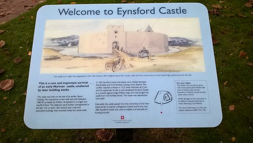 Welcome to Eynsford Castle
