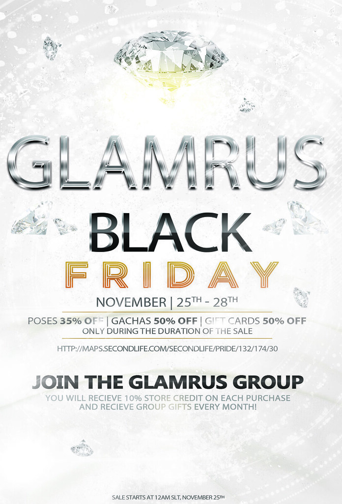 Black Friday Sale At Glamrus! - SecondLifeHub.com