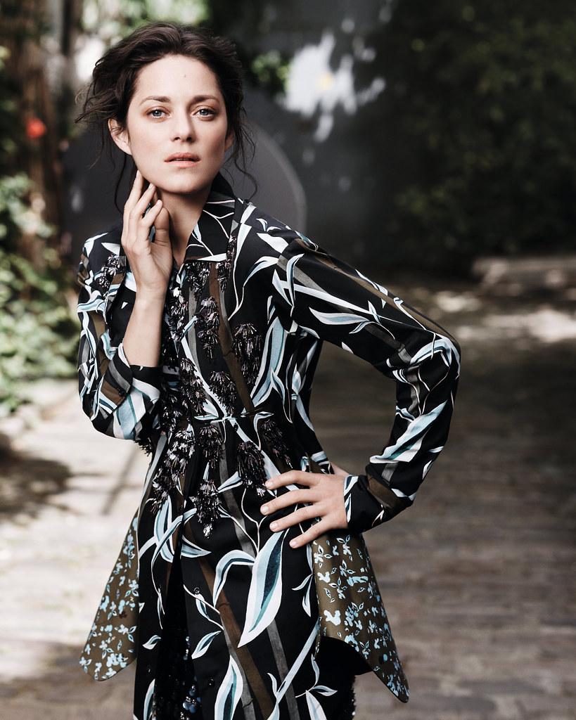 Марион Котийяр — Фотосессия для «Dior» 2016 – 2