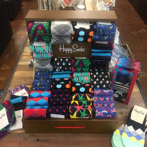 Need a happy for that special man in your life? @happysocks are a fun way to add color to any outfit. Check them out @ryanpatricksalon #RyanPatrickSalon #ErinDrive #MemphisSalon #Choose901 #MostWonderfulTimeOfTheYear🎄