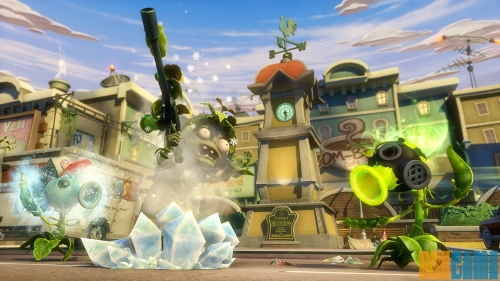 Plants vs Zombies Garden Warfare - En combate