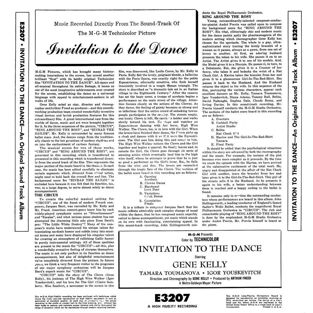 André Previn - Invitation to the Dance