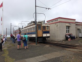 Snaefell tram, Isle of Man