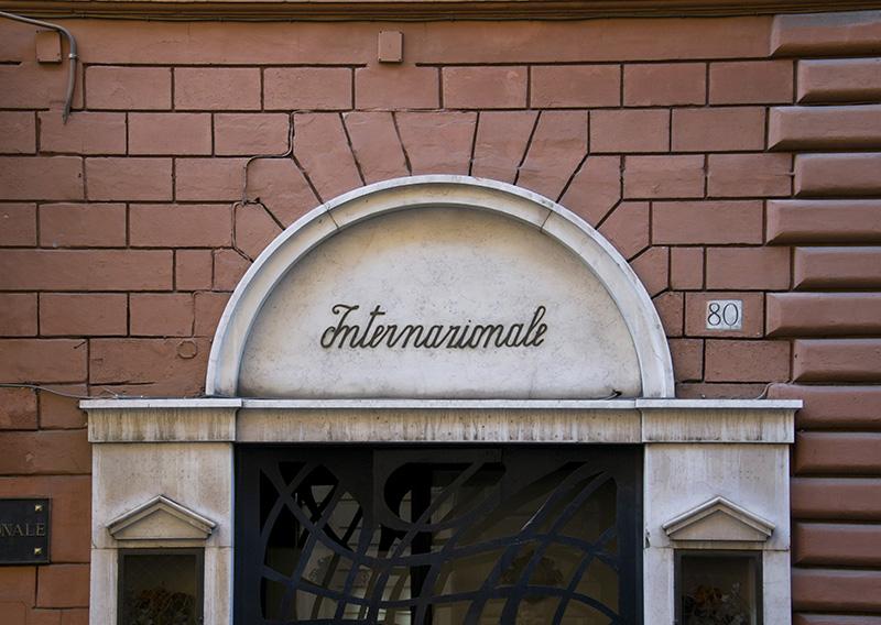 Internazionale Vintage Sign