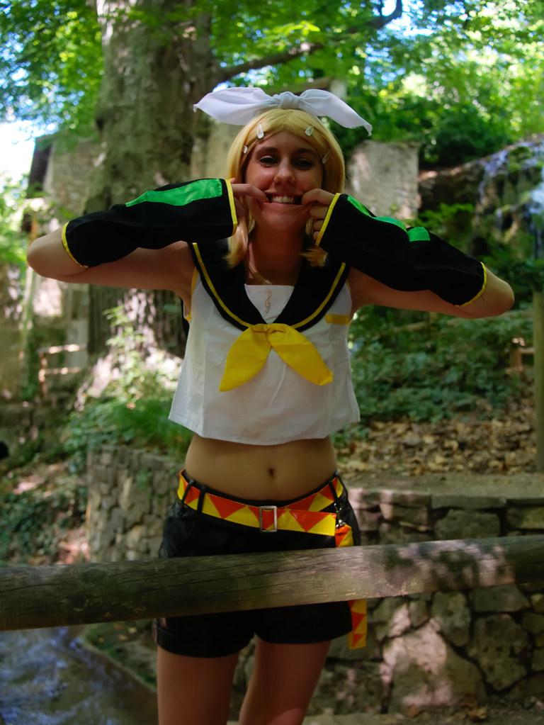 related image - Shooting Rin kagamine - Vocaloid - Parc de Saint Pons -Gemenos- 2015-08-05- P1170759