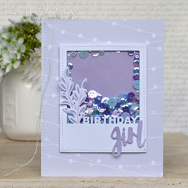 Birthday Girl by Lucy Abrams for Simon Says Stamp