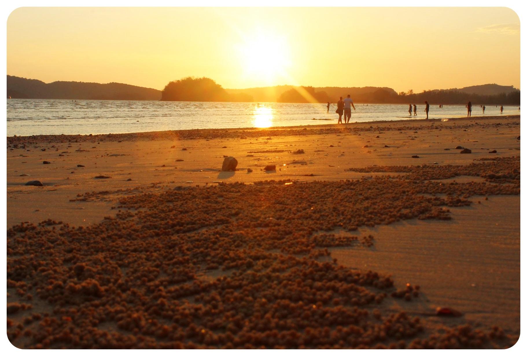 ao nang sunset thailand