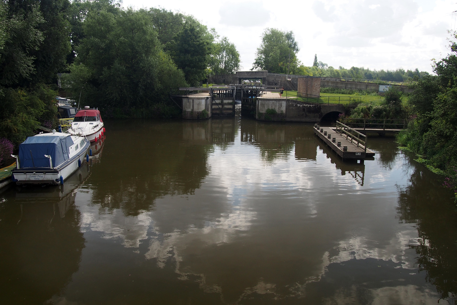 The Medway at Yalding