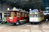 Leipzig 2015 – Straßenbahnmuseum – Tram 179 and 1464 in the museum by Michiel2005