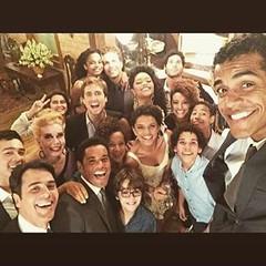 Brindando #Babilônia  ! #AplausoBlogAuroradeCinema #TVGlobo #novelasdas21 @redeglobo #PlimPlim @mmedicis #GilbertoBraga
