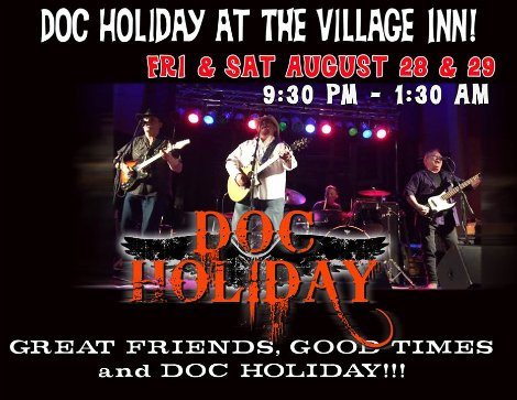 Doc Holiday 8-28, 8-29-15