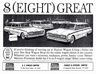 1960 Meteor Station Wagons