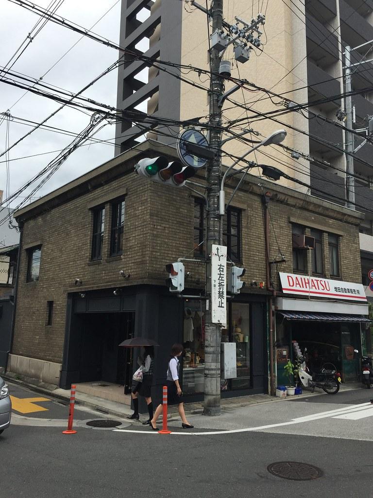 京都寺町通交差点