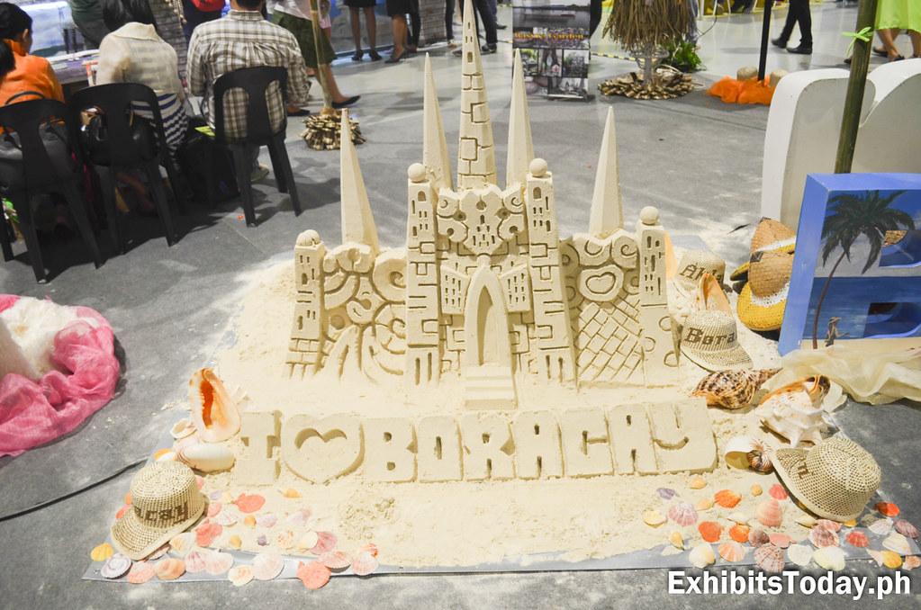 I Love Boracay Sand Castle