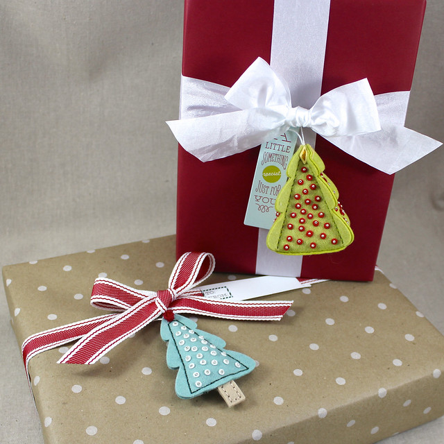 Tree Ornament Gift Toppers