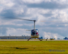 R-44 RAVEN II ABOUT TO LAND AT PAINE FIELD