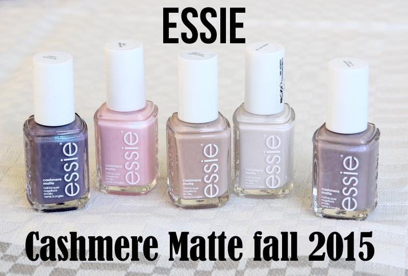 Essie Cashmere matte fall 2015