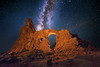 Milky Way above Turret Arch