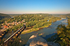 Harpers Ferry & Potomac River Overlook