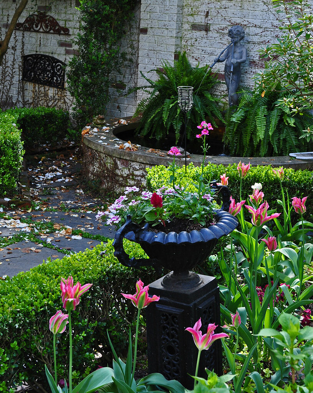 Charleston Garden in the Spring
