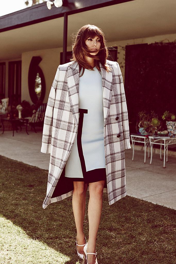 Нина Добрев — Фотосессия для «Who What Wear» 2015 – 4