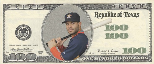 Astros Money Altuve