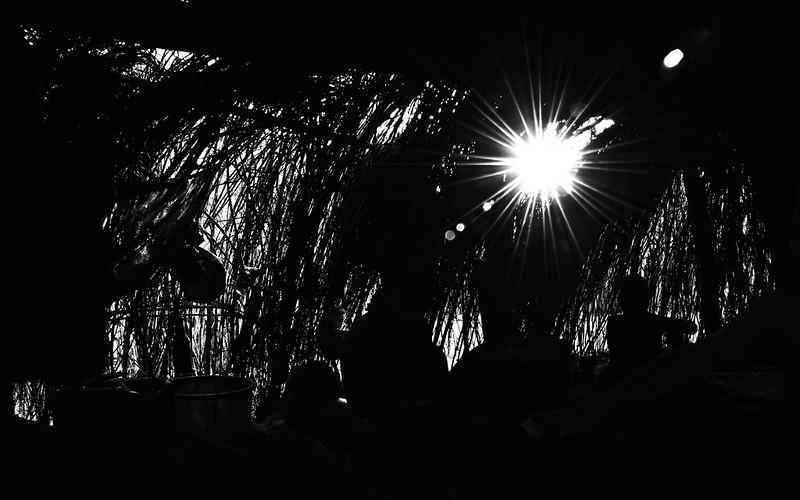 Looking Out, Karo Hut, Ethiopia
