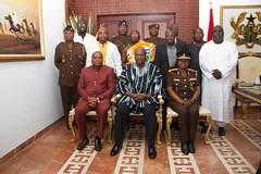 PSC visit         President