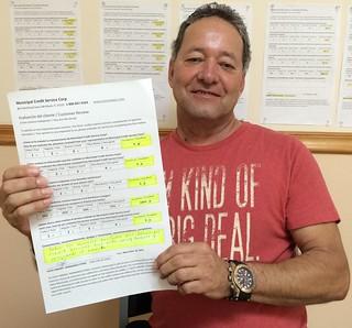 Aldo Hernandez Testimonio de Reparacion de Credito en Municipal Credit Service Corp
