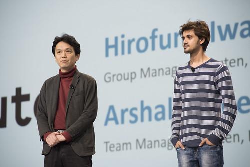 Arshal Ameen and Hirofumi Iwasaki, Java Keynote, JavaOne 2015 San Francisco