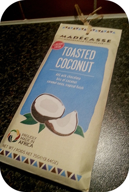 Madécasse Toasted Coconut Milk Chocolate Bar
