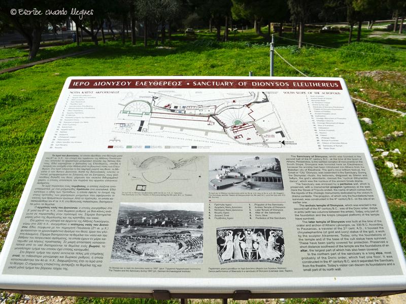 Cartel del Teatro de Dionisio