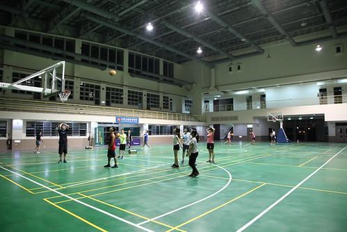 體育館運動運動