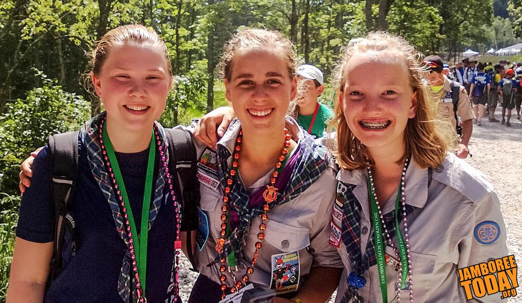 National Jamboree Hosts International Scouts