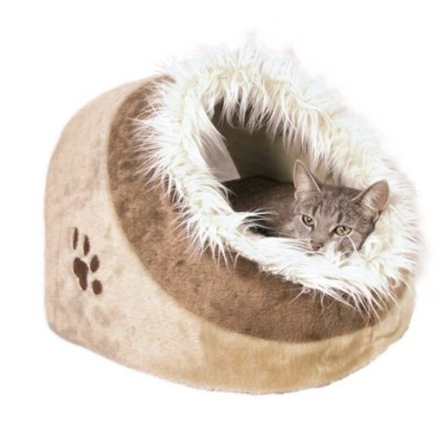 Trixie Pet Products Cushy Cave Minou Cat Bed