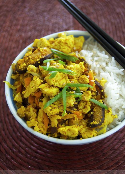 Asian-style Scrambled Tofu