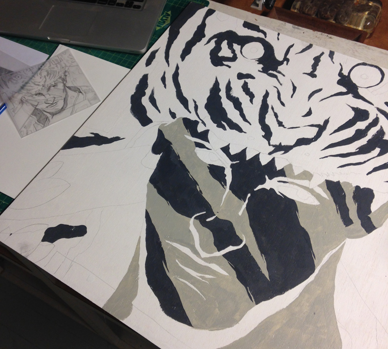 Tiger Process