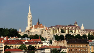 Image of Matthias Church near Budapest.