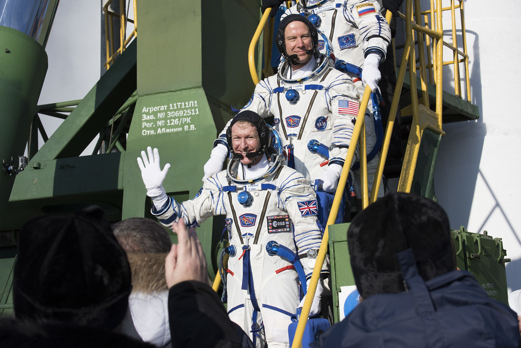 TMA-19M Launch with Tim Peake