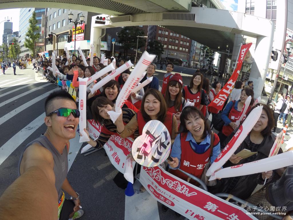大阪馬拉松-跑步-82