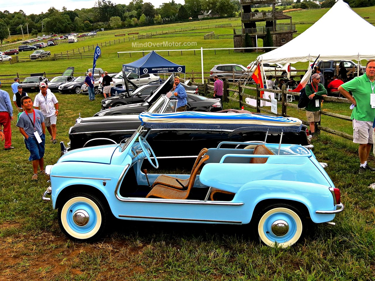 Blue Fiat Jolley Radnor Hunt 2