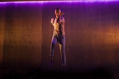 Alex Austin (Jan) in Barbarians at the Young Vic. :copyright: Ellie Kurttz