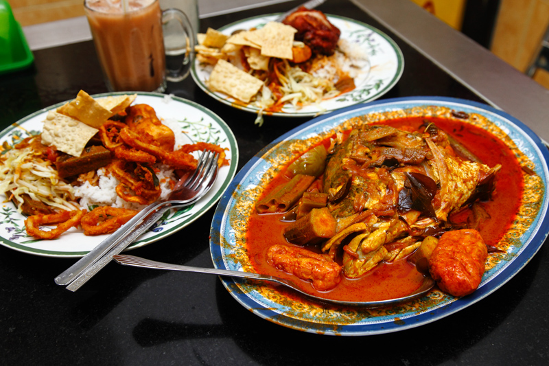 Fish Head Curry Meal KL