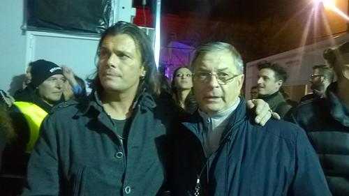 foto Grignani con presidente Agebeo Michele Farina