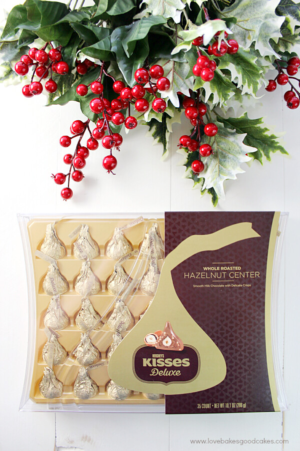 Hershey's KISSES Deluxe Chocolates are the deliciously thoughtful way to show your affection to those important to you. #SayMore #IC #ad